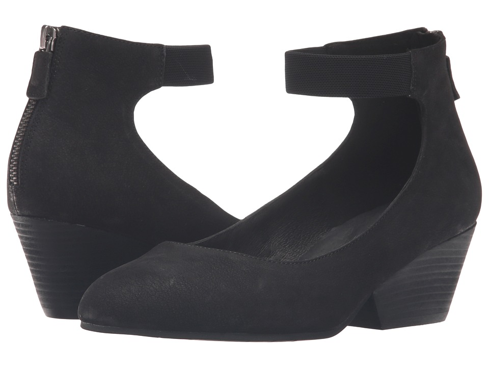 Eileen Fisher Liza (Black Nubuck) Women
