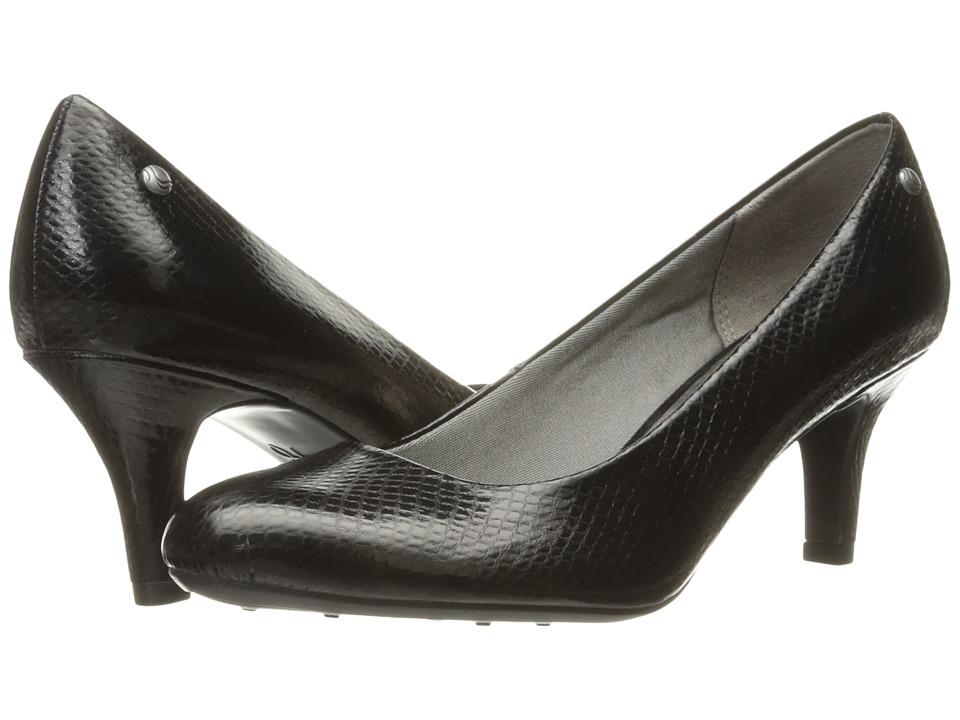 LifeStride Parigi (Black Snake) High Heels