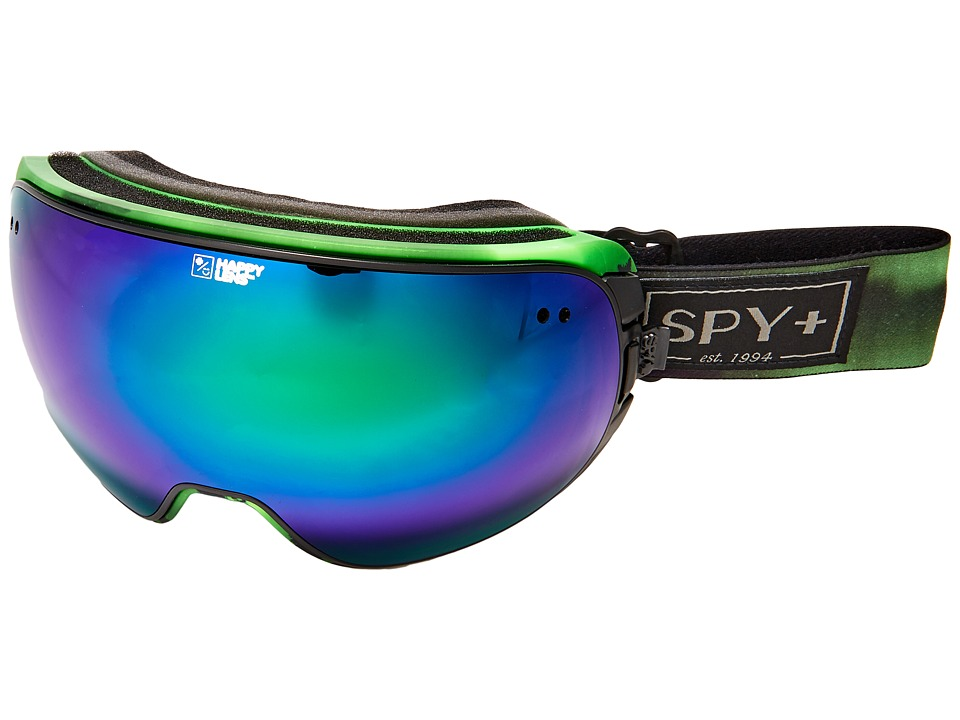 Spy Optic Doom (Aurora Green/Happy Green Spectra/Happy Lucid Silver) Snow Goggles