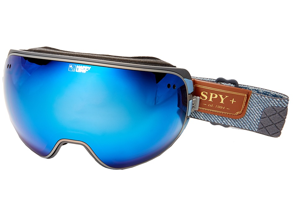 Spy Optic Doom (Hunter Gray/Happy Dark Blue Spectra/Happy Lucid Red) Snow Goggles