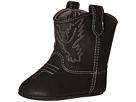 Baby Deer Western Boot (Infant) (Black)