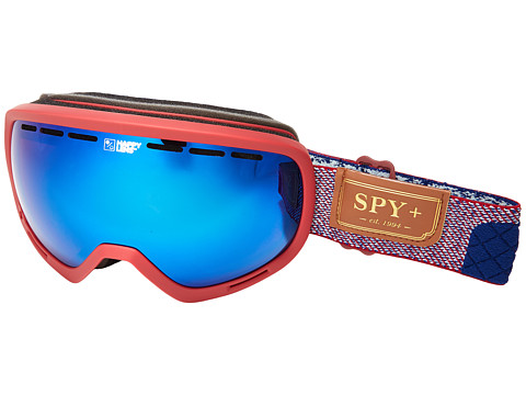 Spy Optic Marshall - Hunter Red/Happy Dark Blue Spectra/Happy Lucid Red