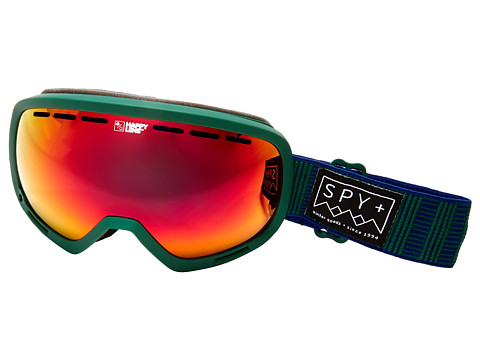 Spy Optic Marshall - Stitched Green/Happy Red Spectra/Happy Lucid Red