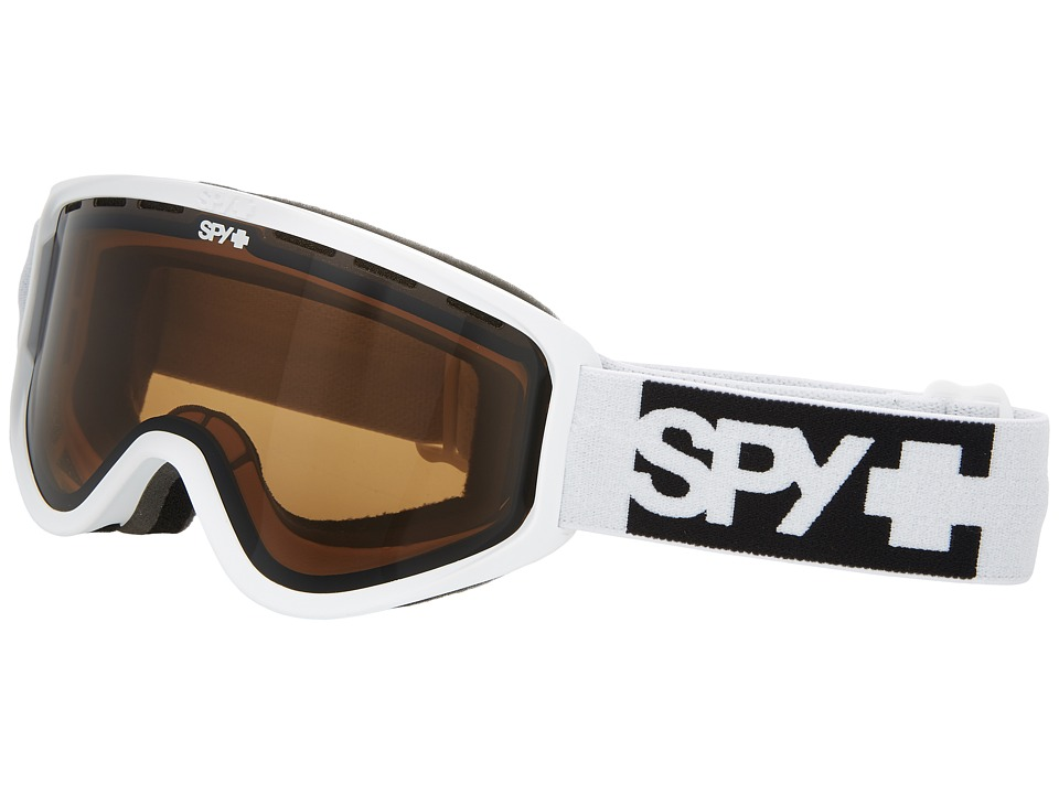 Spy Optic Woot (Matte White/Bronze) Goggles