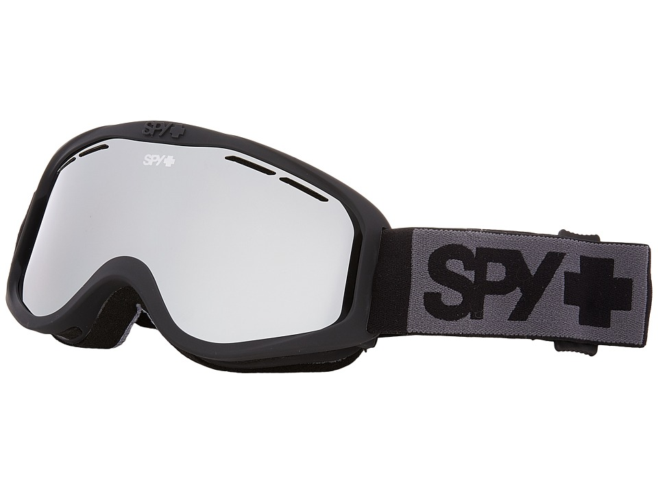 Spy Optic Cadet (Matte Black/Silver Mirror) Goggles