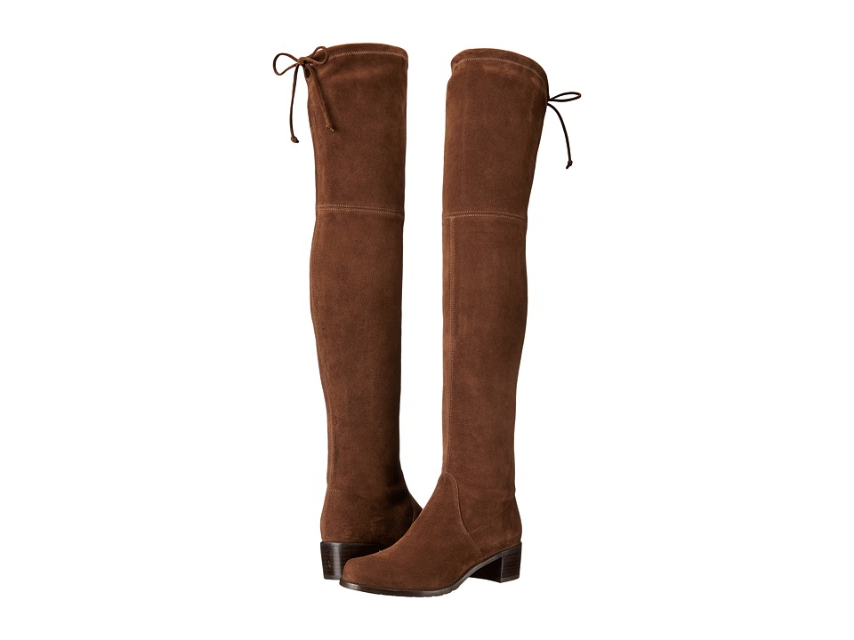 Stuart Weitzman - Midland (Walnut Suede) Women's Shoes