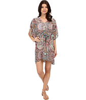 Red Carter - Montezuma Caftan Cover-Up
