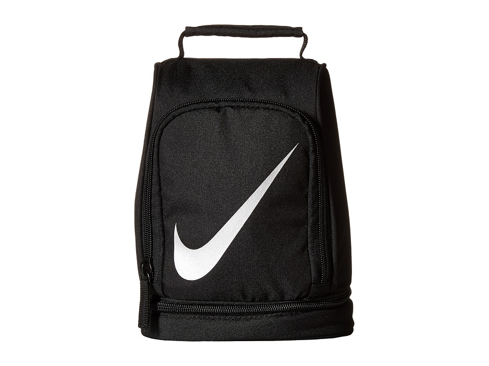 Nike Kids - Lunch Tote (Black/Reflective Silver) Bags