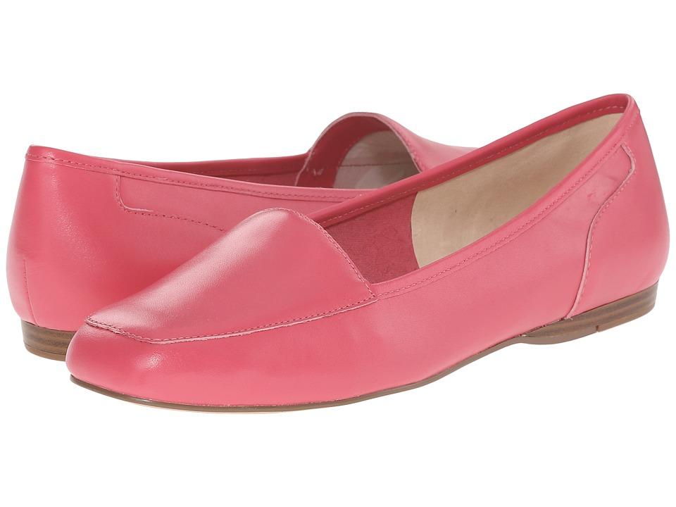Bandolino Liberty Fuchsia Leather Womens Slip on Shoes