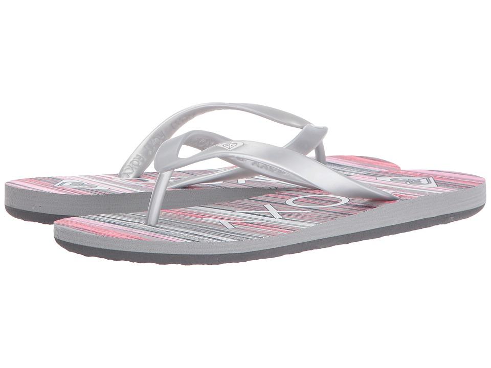 Roxy Tahiti V (Pink/Metallic Silver) Women