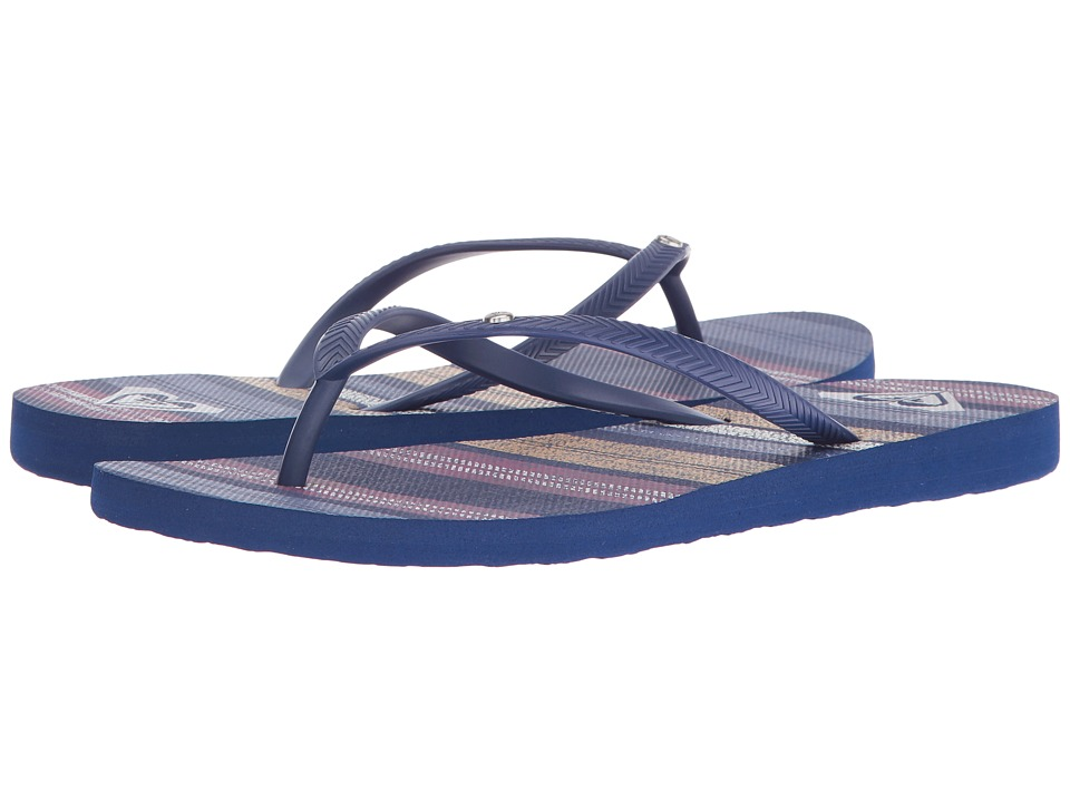 Roxy Bermuda (Dark Blue) Sandals