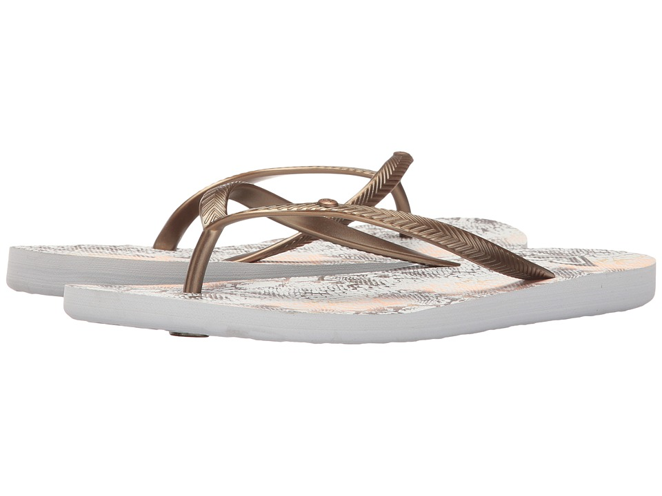 Roxy Bermuda (Wheat/White) Sandals