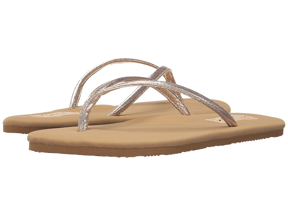 Flojos - Scarlett (Gold/Tan) Women's Sandals