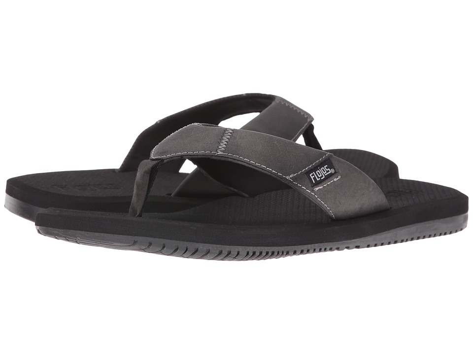 Flojos - Drew (Black) Men's Sandals