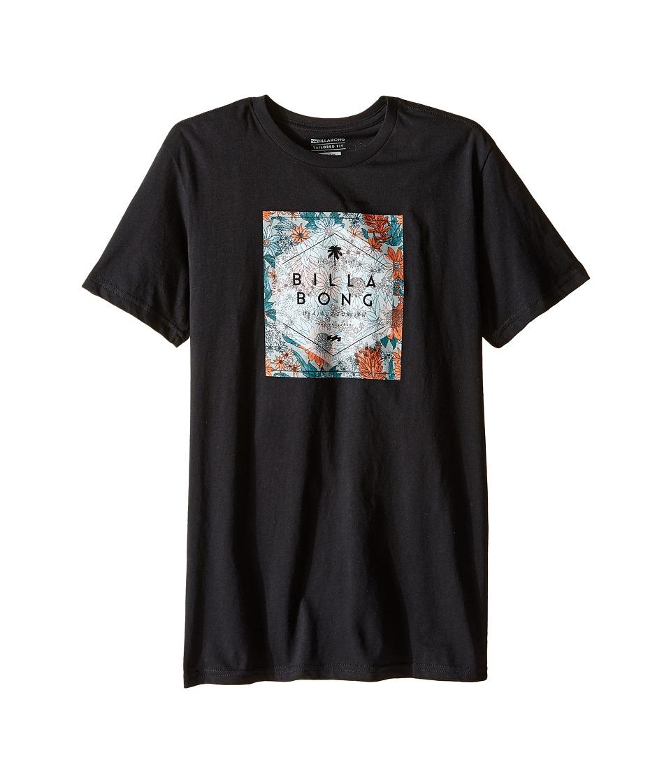 Billabong Kids - Hex Fill T-Shirt (Big Kids) (Black) Boy