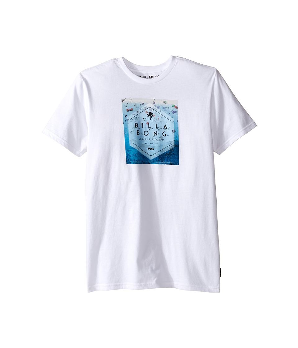 Billabong Kids - Hex Fill T-Shirt (Big Kids) (White) Boy