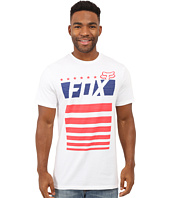Fox - Red, White and True Short Sleeve Tee