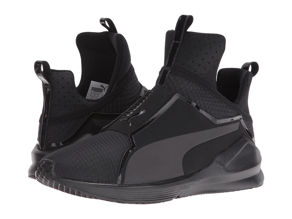 PUMA - Fierce Quilted (Puma Black/Puma Black) Womens Shoes