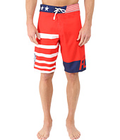 Fox - Red, White and True Boardshorts