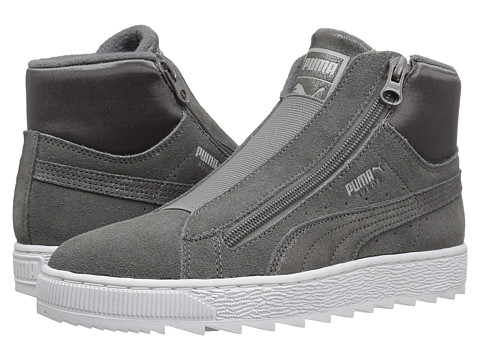 PUMA Suede Mid WTR Element - Steel Gray/Steel Gray
