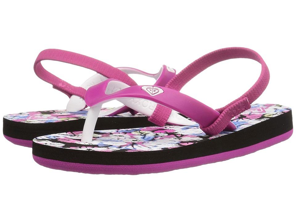 Roxy Kids Tahiti V (Toddler) (Rose) Girls Shoes