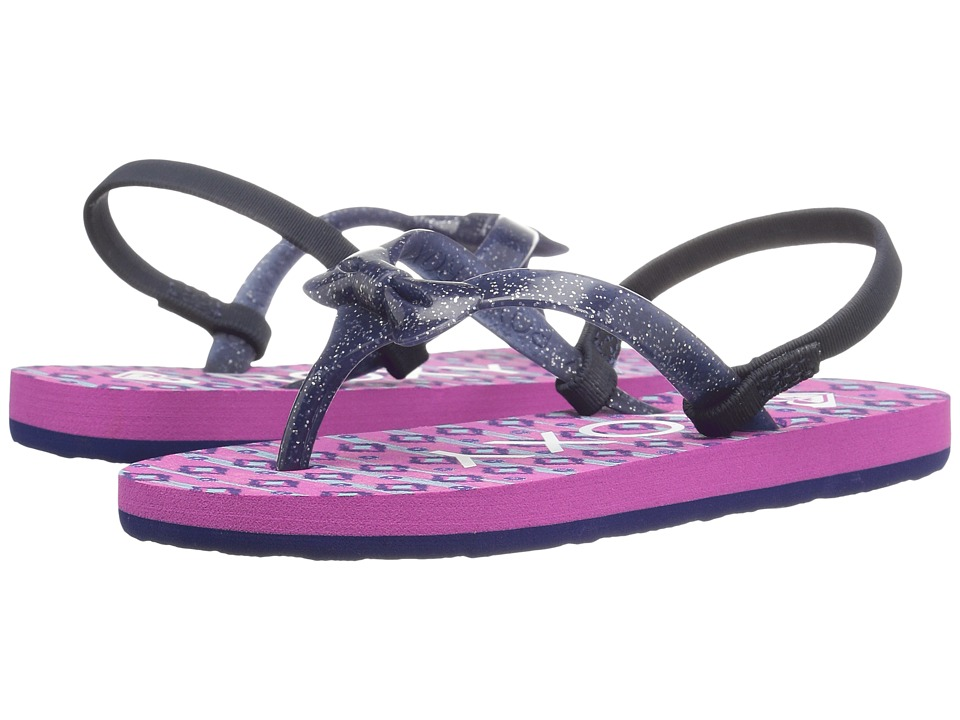 Roxy Kids Fifi (Toddler) (Magenta Purple) Girls Shoes