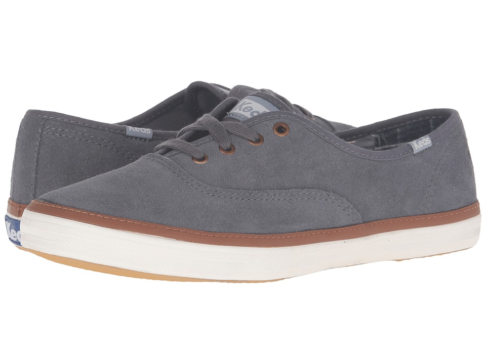 Keds - Champion Suede (Shade Gray) Women
