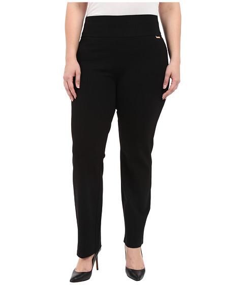 Calvin Klein Plus Plus Size Wide Waist Straight Pants