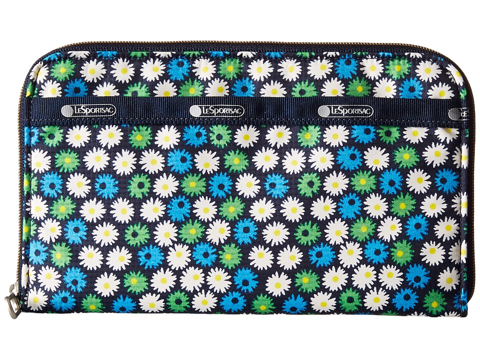 LeSportsac - Everyday Wallet (Travel Daisy) Wallet Handbags