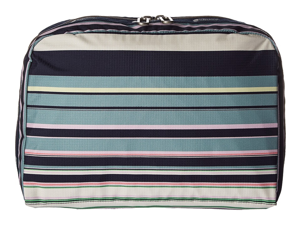 LeSportsac Luggage - XL Essential Cosmetic (Beach Stripe) Cosmetic Case