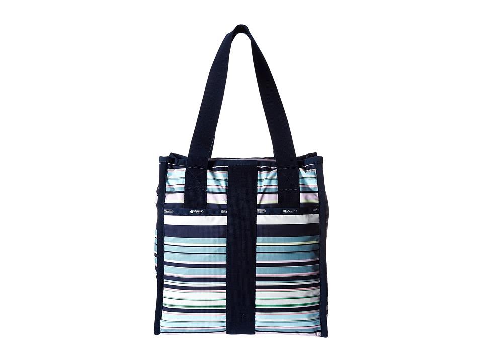 LeSportsac Luggage - City Tote (Beach Stripe) Tote Handbags