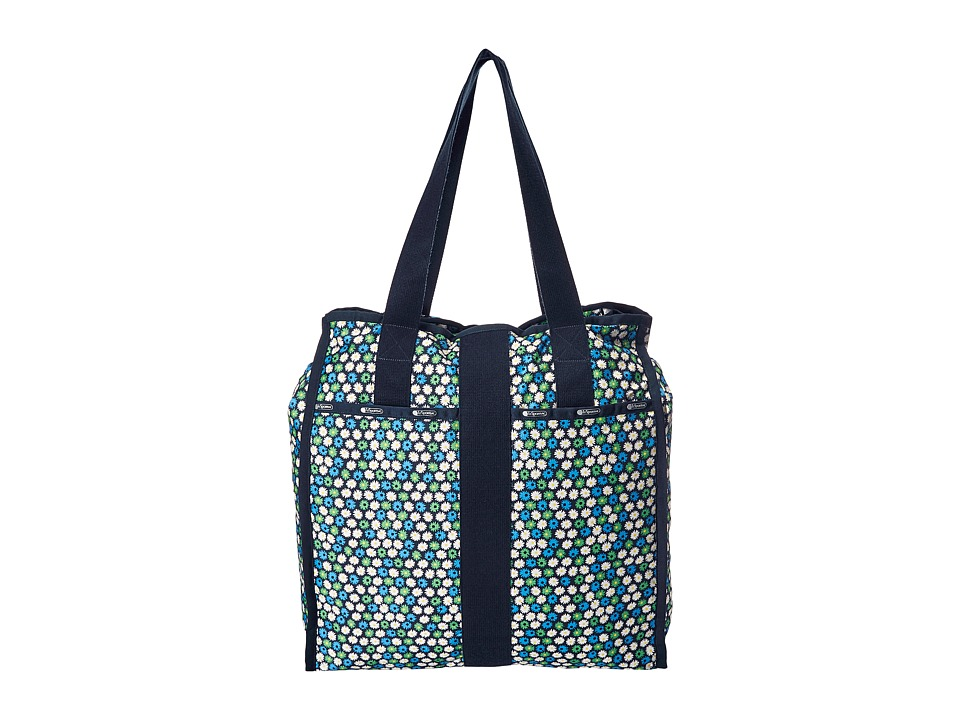 LeSportsac Luggage - Large City Tote (Travel Daisy) Tote Handbags
