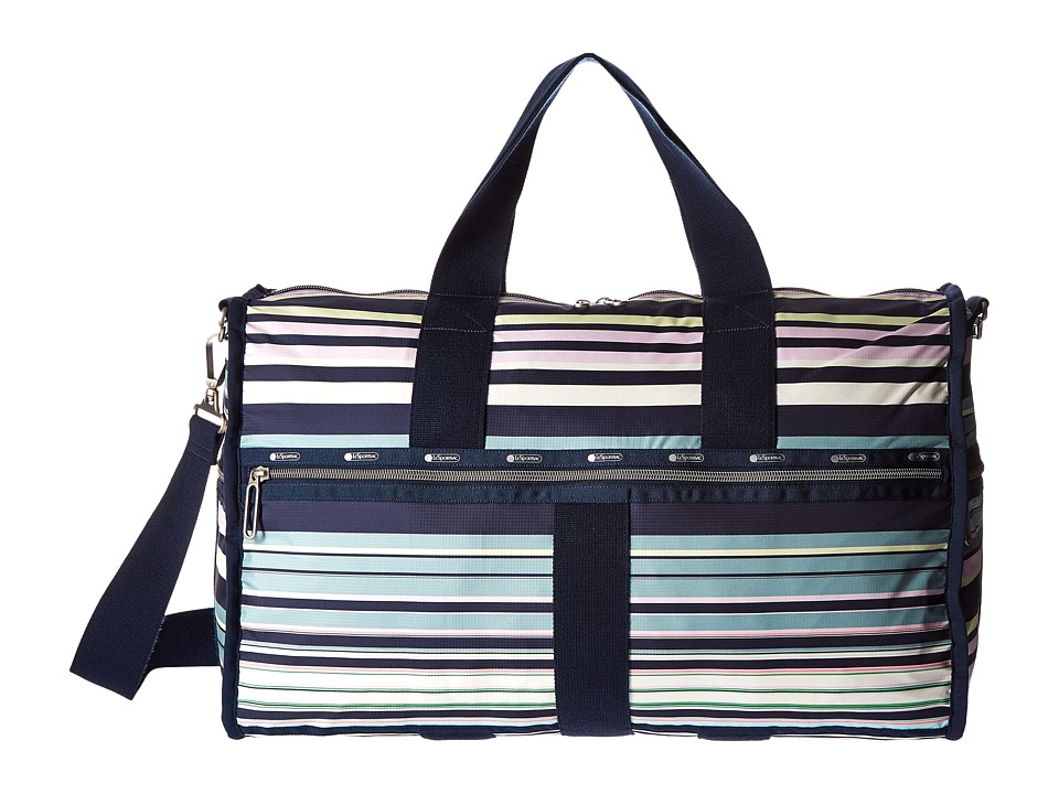 LeSportsac Luggage - CR Large Weekender (Beach Stripe) Weekender/Overnight Luggage
