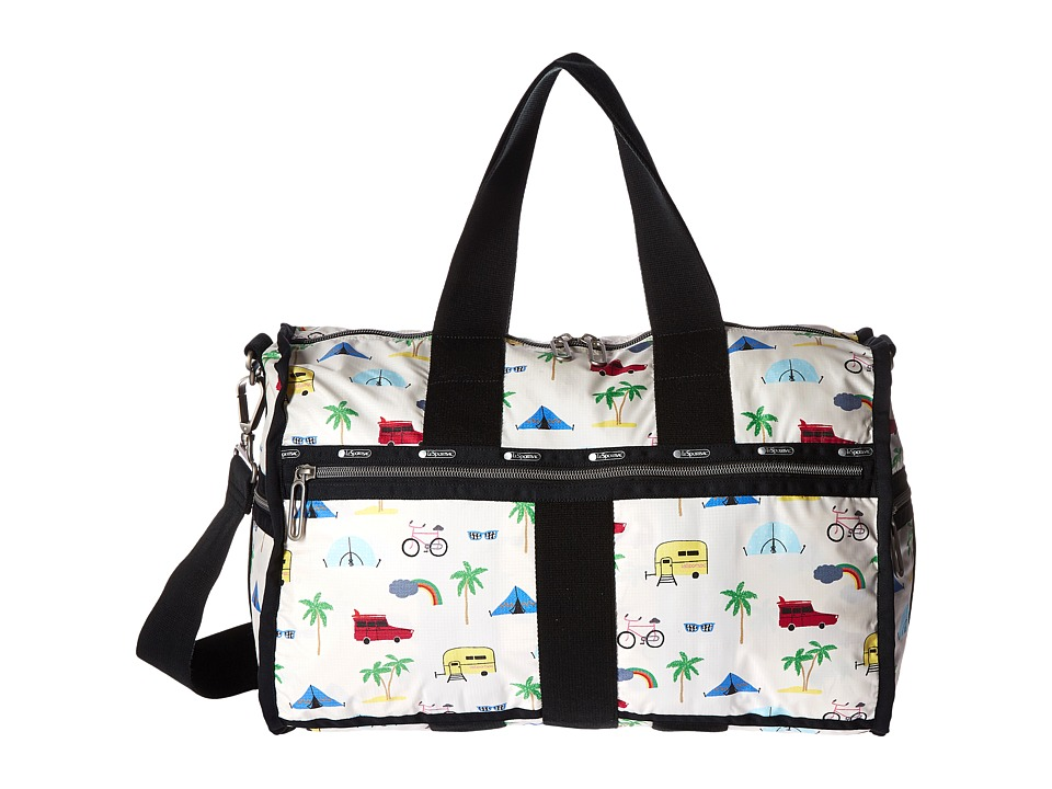 LeSportsac Luggage - Weekender (Roadtrip Vaca Cream) Weekender/Overnight Luggage