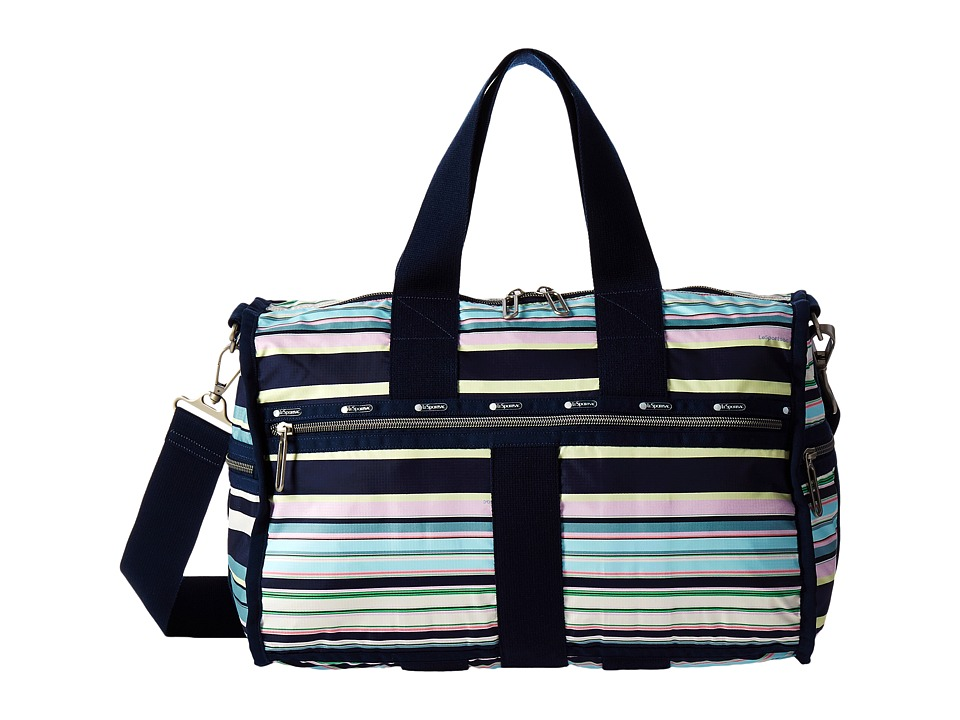 LeSportsac Luggage - Weekender (Beach Stripe) Weekender/Overnight Luggage
