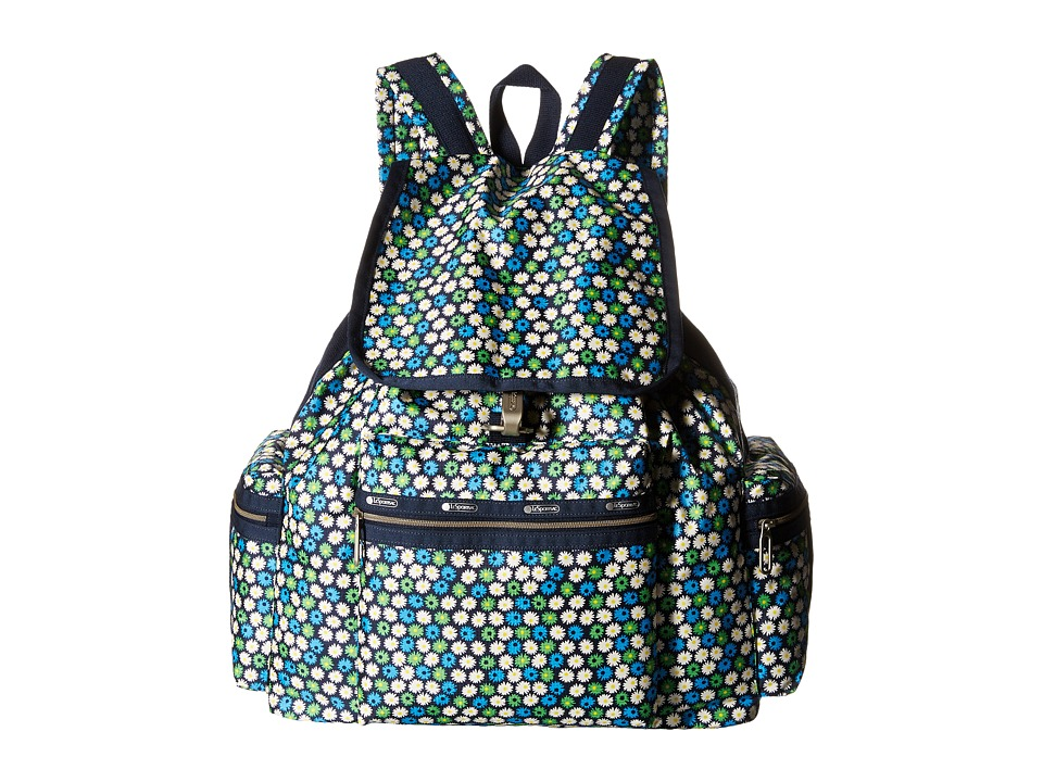 LeSportsac - 3-Zip Voyager (Travel Daisy) Handbags