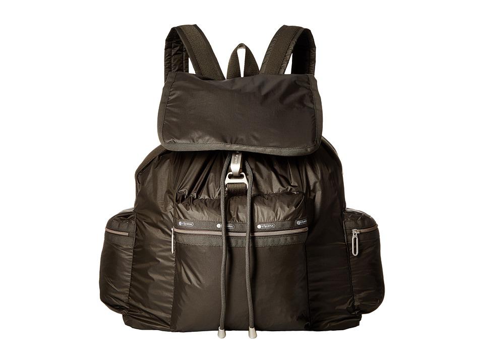 LeSportsac - 3-Zip Voyager (Gravel Camo) Handbags