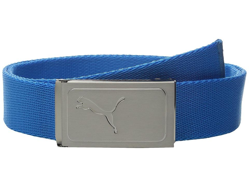 PUMA Golf Kids Works Web Belt Big Kids Atomic Blue Boys Belts