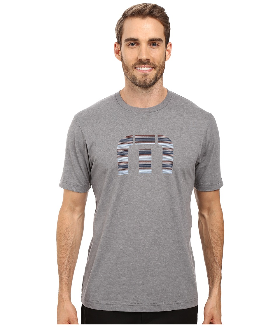TravisMathew - Corn Flakes T-Shirt (Heather Grey) Men