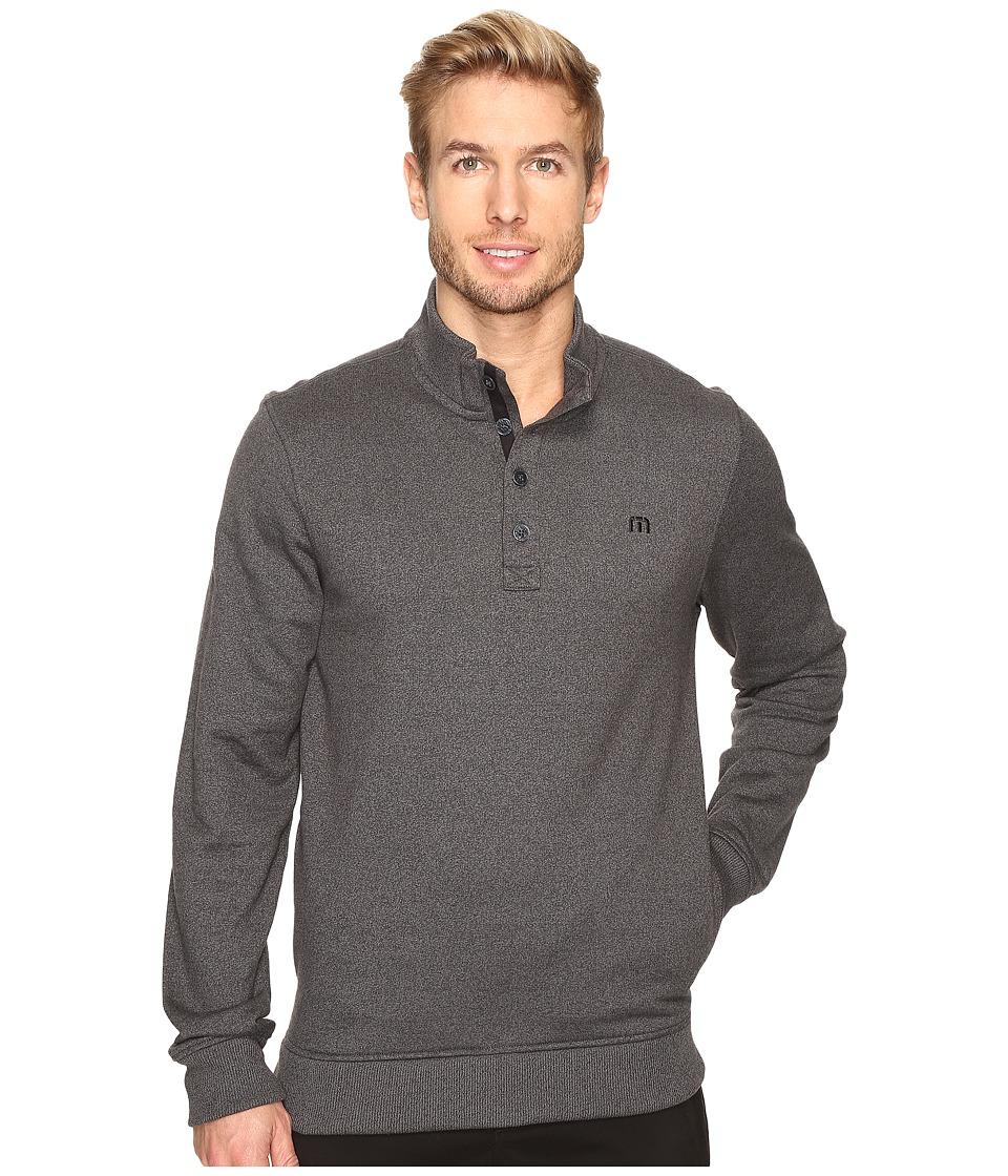 TravisMathew - Wall Sweater (Quiet Shade/Black) Mens Sweater
