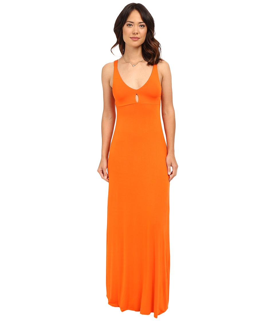 Clayton Zyana Dress Tangerine Womens Dress