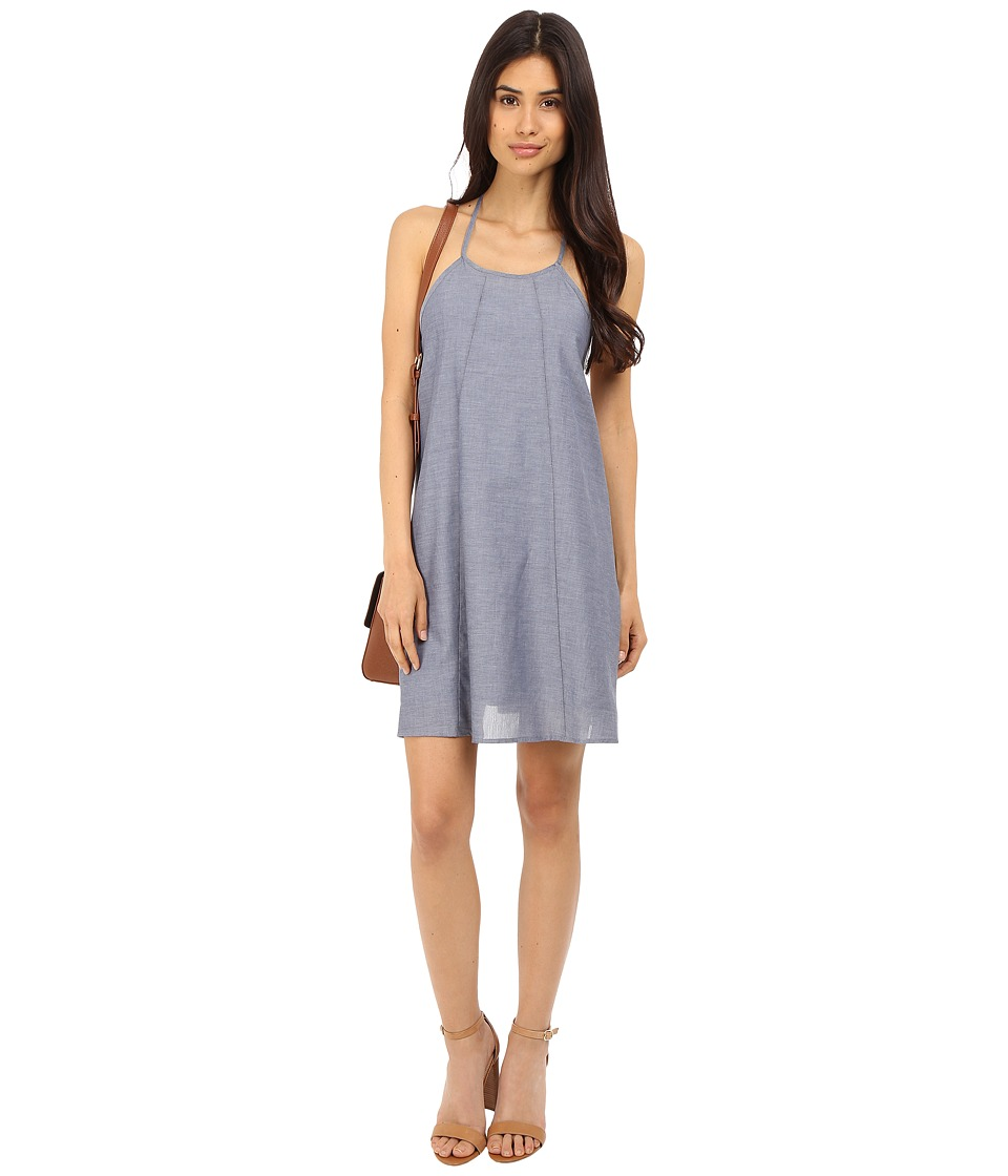 Clayton Chambray Leah Dress Chambray Womens Dress