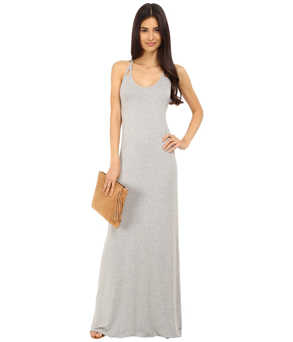 Clayton Sabrina Dress Heather Grey Womens Dress