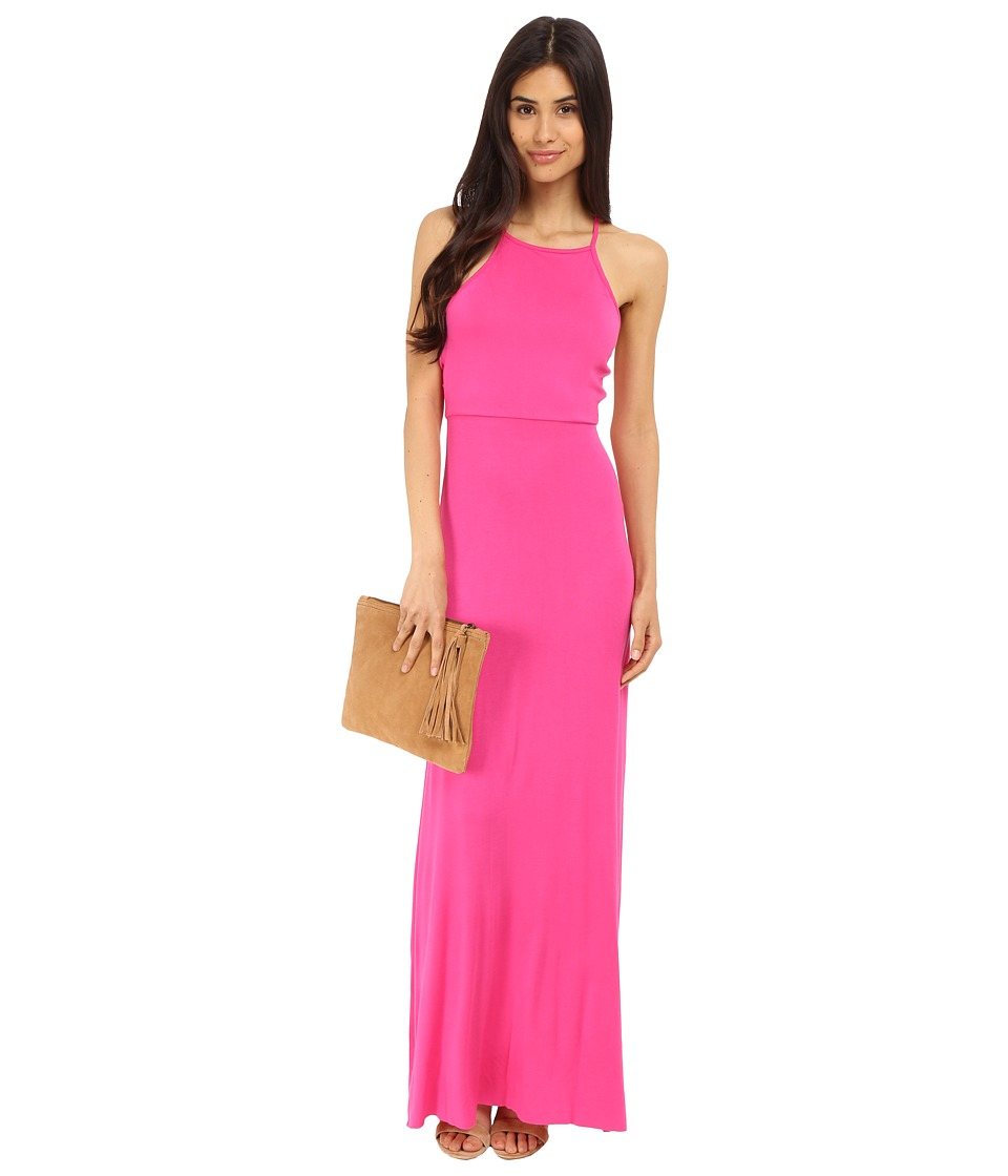 Clayton Dionne Dress Fuchsia Womens Dress