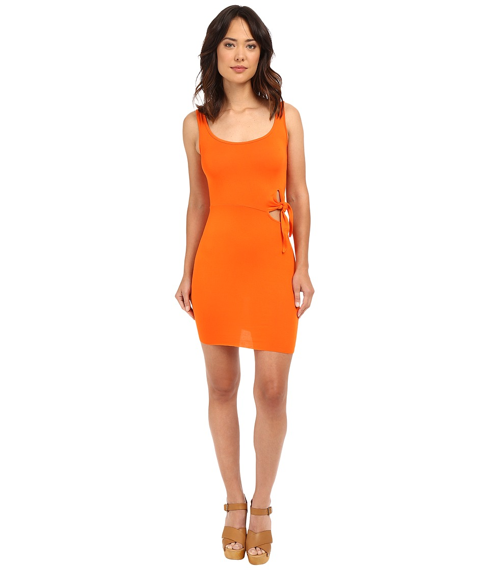 Clayton Yara Dress Tangerine Womens Dress