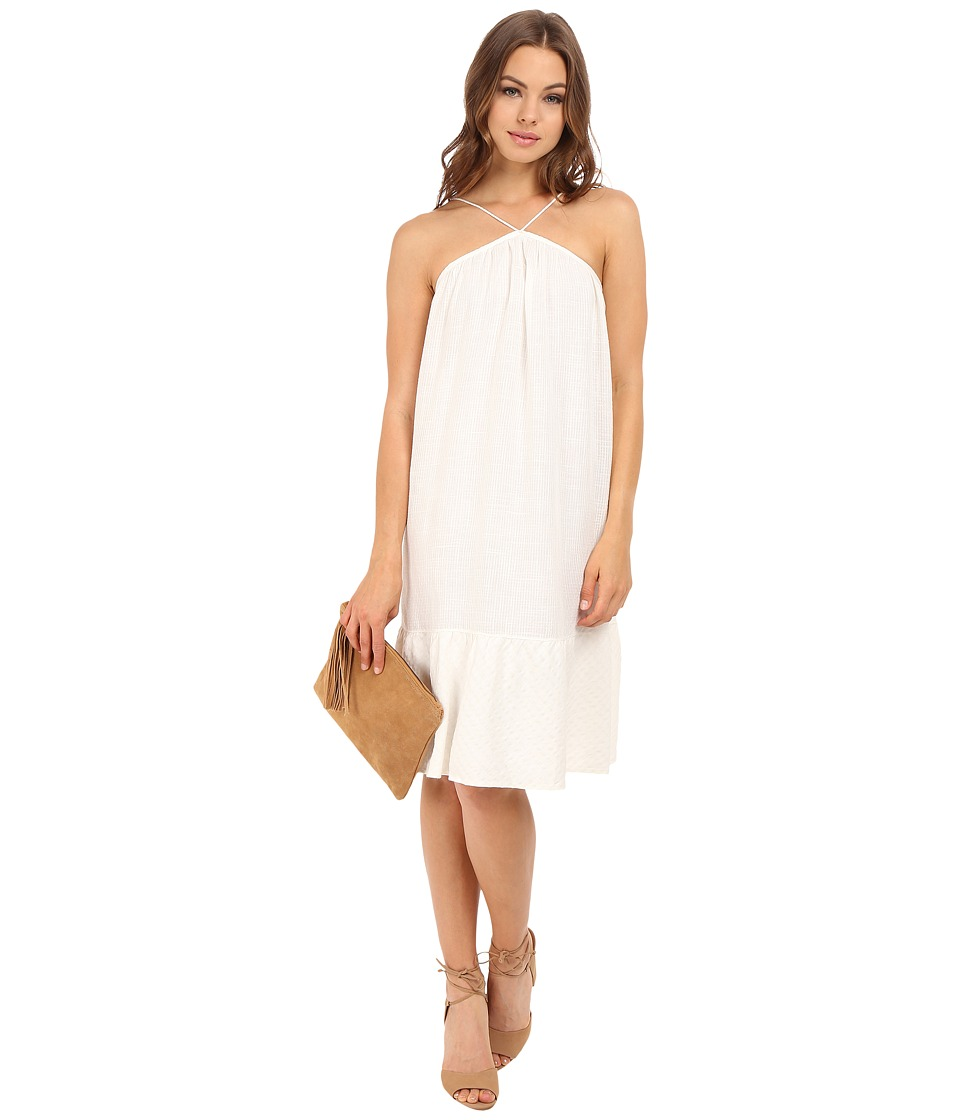Clayton Linen Anisa Dress Ivory Womens Dress