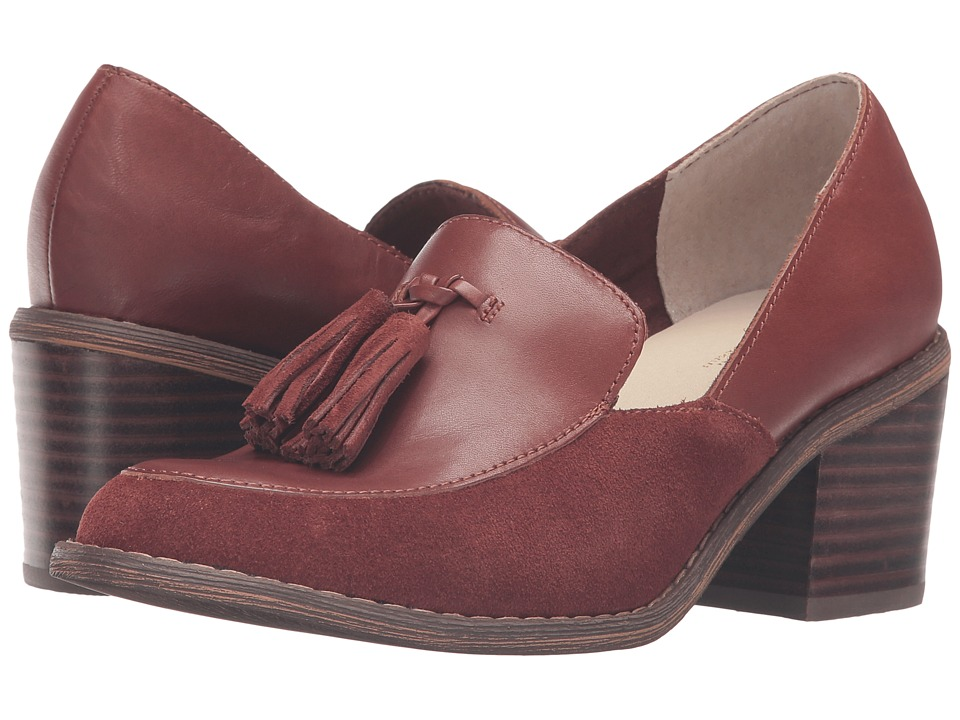 Seychelles Descent (Whiskey Leather/Suede) High Heels