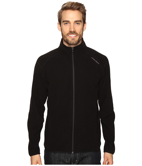 Hot Chillys Baja Zip Jacket W/Binding - Black