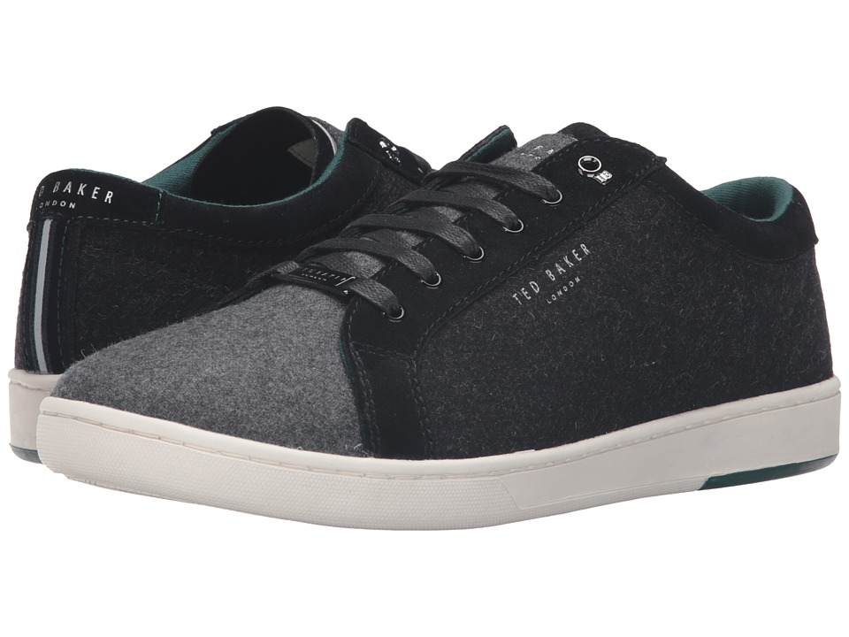 Ted Baker Minem (Dark Grey Wool) Men