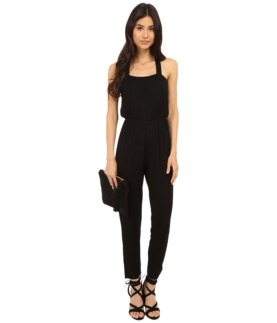 Clayton Ava Jumpsuit Black Womens Jumpsuit Rompers One Piece